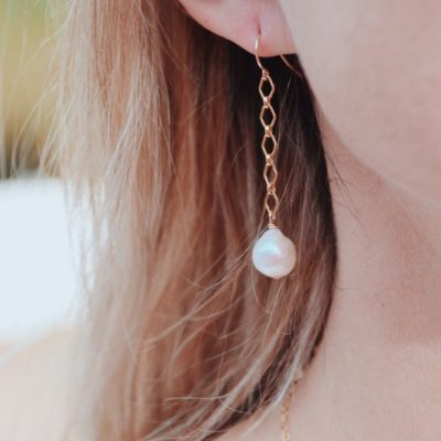 Freshwater Pearl Drop Earring are the perfect elegant touch when dressed up or down