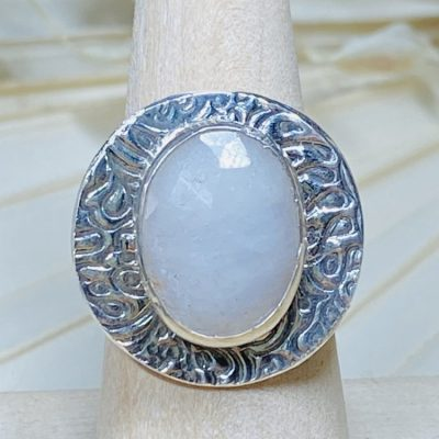 Alabaster Sapphire Ring