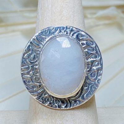 Alabaster Sapphire Ring