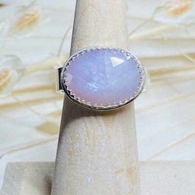 Rosy Cheeks Sapphire Ring