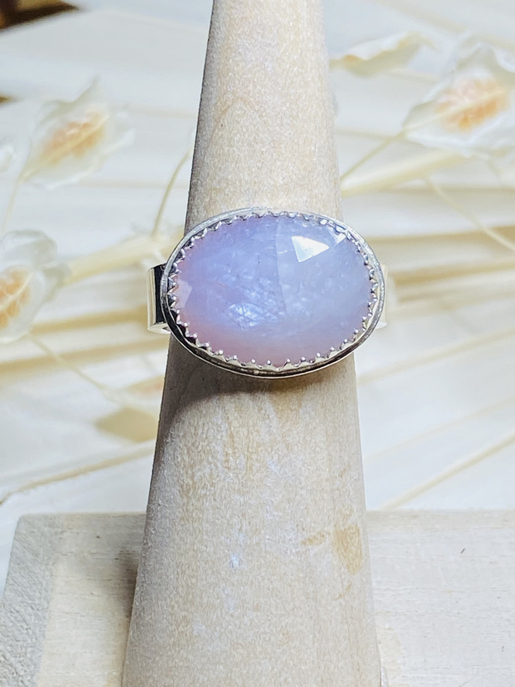Rosy Cheeks Sapphire Ring