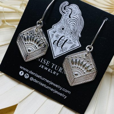 Sunrise Art Deco Earrings